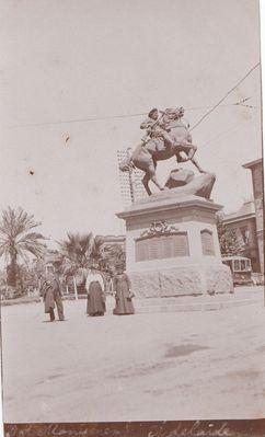 The Boer war Memorial 1911.
