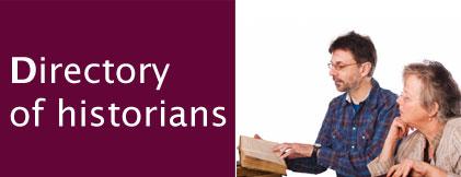 Historians directory header image